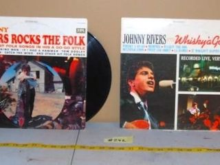 JOHNNY RIVERS RECORDS