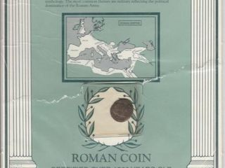 ROMAN COIN CERTIFIED OVER 1500 YEARS OlD