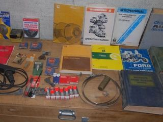 GROUP OF MISC  ITEMS IN GARAGE