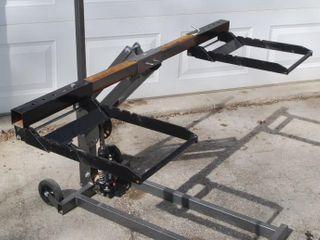 300lB CAPACITY HIGH lIFT RIDING MOWER   ATV JACK