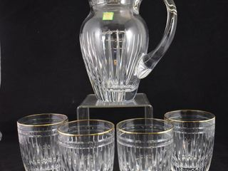 Marquis Waterford Hanover Gold water set