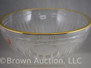 Marquis Waterford Hanover Gold 5 h x 10 d bowl