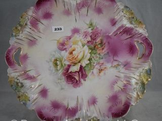 R S  Prussia Icicle Mold 11 d cake plate  red mark