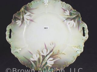 R S  Prussia 11 5 d cake plate  red mark