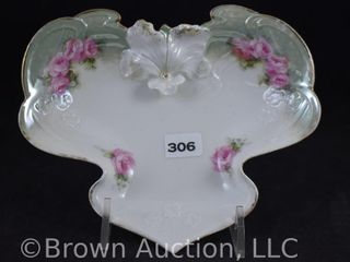 R S  Prussia 6 d candy dish or card tray  red mark