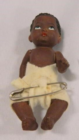 African American Jointed Doll