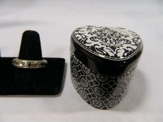 Brighton Ring w Rhinestones
