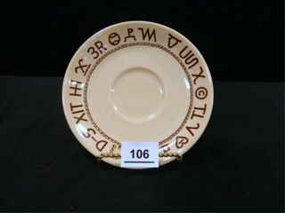 Wallace China Rodeo Saucer