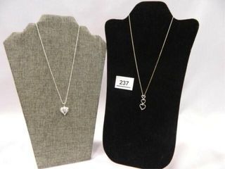 Sterling Silver Necklaces   2