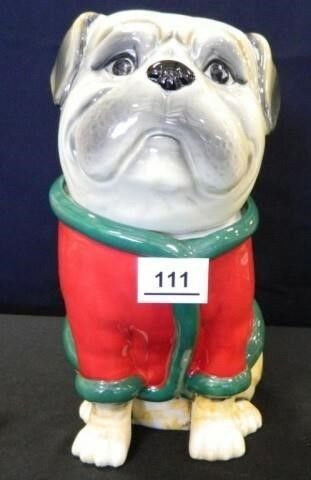 Bulldog Cookie Jar
