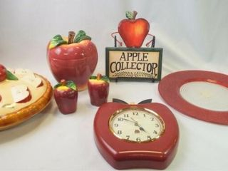 Apple Clock  Pie Plate  Sign  Other  7