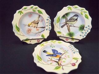 2005 Home Interiors Bird Plates  3