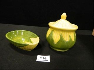Shawnee Corn Sugar Bowl   Dish
