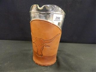 Bamco leather Products Pitcher