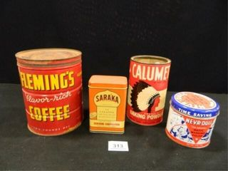 Collectible Advertising Containers