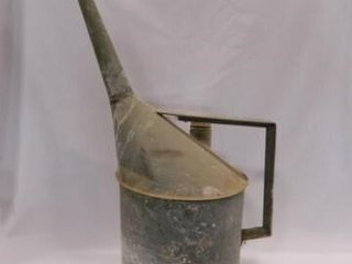 Galvanized Gas Can  Vintage