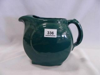 Frankoma Teal Pitcher  4D
