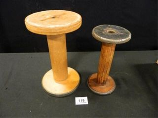 Industrial Wooden Spools   2