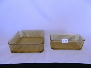 Amber Refrigerator Dishes   2
