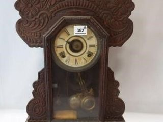Ingraham Wood Clock  23  x 5