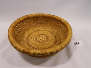 Pine Needle Basket per seller