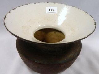 Antique Cast Iron Spittoon