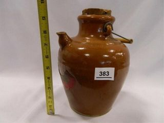 Vinegar Crock w Original label