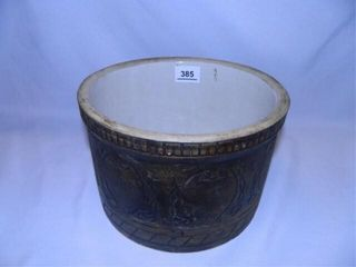 Antique Redwing Crock