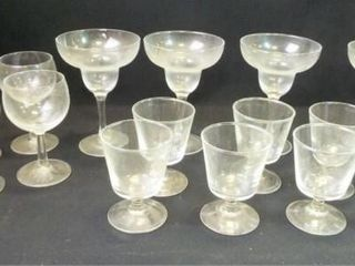Glass Stemware   3 sizes  16