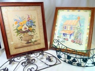Framed Prints  Metal Decor Pieces  4