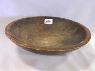 Primitive Wooden Bowl