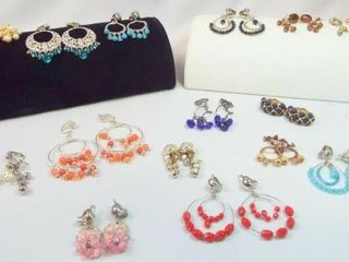 Clip Earrings  15 pairs