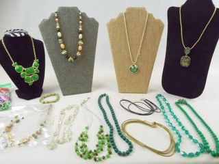 Necklaces  Green  15