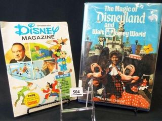 1976  1979 Disney Book  Magazine