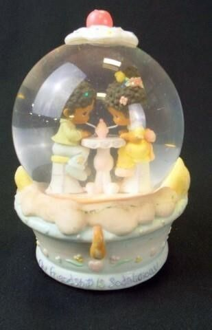 Precious Moments Music Box Snow Globe