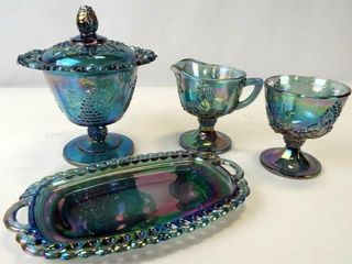 Carnival Glass Pieces  4