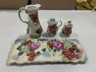 Nippon Tea Set  Hand painted  4
