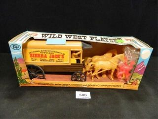 Wild West Playset  New in Pkg