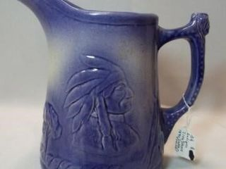 1890 Ironstone England Pitcher