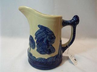 Old Sleepy Eve Pitcher  Reproduction