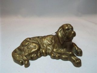 Antique Dog Ink Well  4 5
