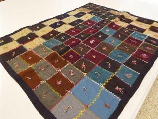 Doll or lap Crazy Quilt  36  x 30