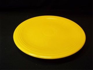 Yellow Fiesta Platter  12