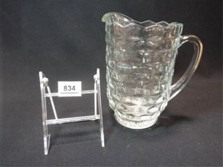 Fostoria lemonade Pitcher  8