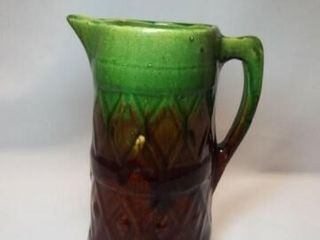 Yellow Ware Millk Pitcher  9 5