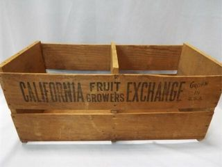 California Fruit Crate