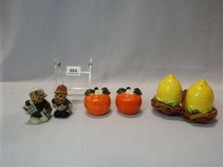 Salt   Pepper   Holt Howard  Inarco  3 sets