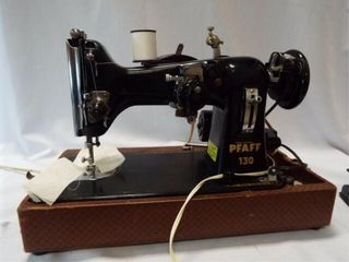 Pfaff 130 Sewing Machine in Case