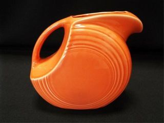 Fiesta Orange Pitcher  7