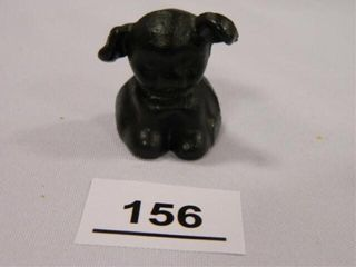 Antique Hubley Pup Paperweight